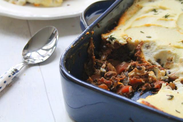 Lamb and Lentil Shepherd's Pie