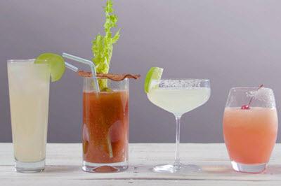 hình cocktail pha từ rượu tequila