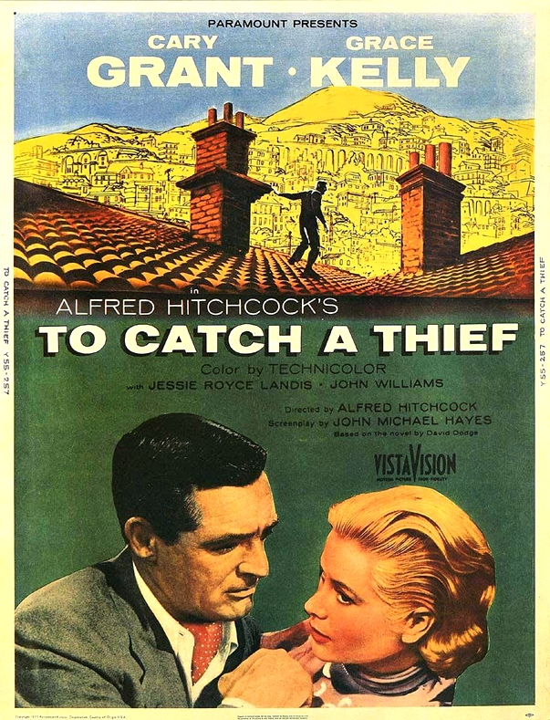 Atrapa a un ladrón (To Catch a Thief, 1955) poster