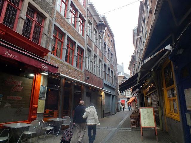 calles de Namur en Bélgica