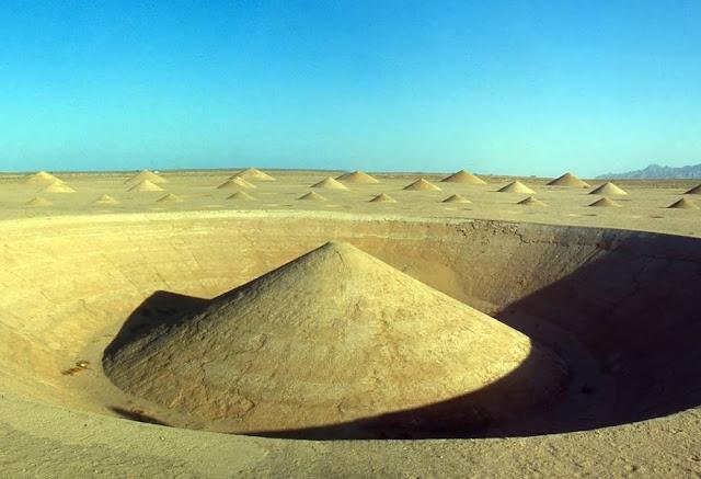 cones deserto sahara ambiente leitura carlos romero