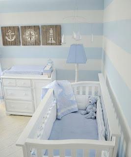 Habitación bebé naútico