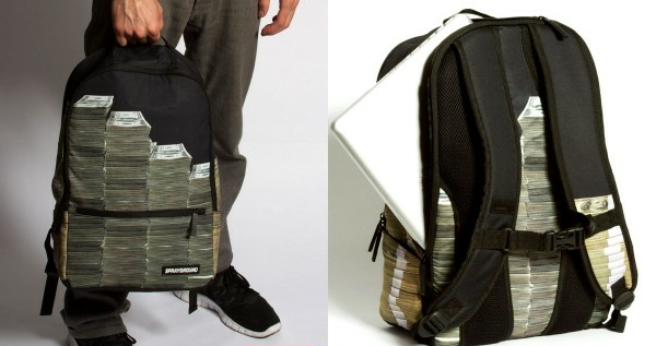 SPRAYGROUND Money Stacks Backpack as worn by 50 Cent