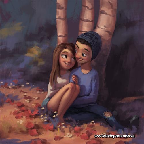 ilustraciones romanticas