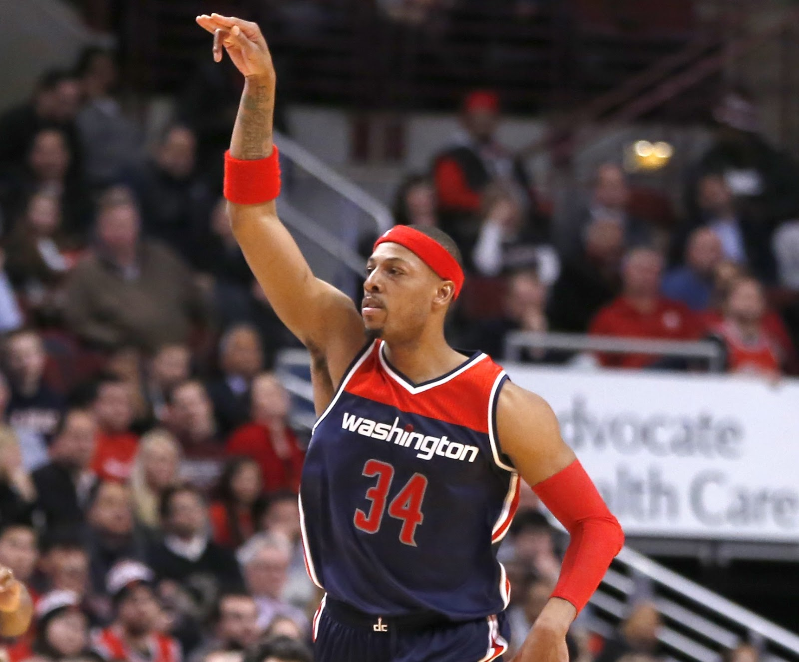 official photos aaa55 3ea1d Celtics Life: Paul Pierce opts out of contract with Wizards ...