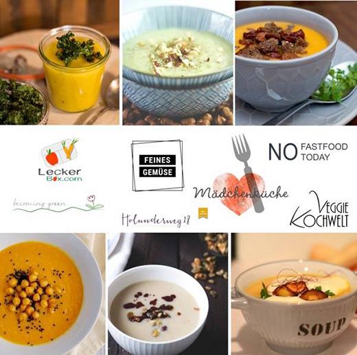 Wurzelgemüse-Suppen, Mädchenküche. Foodblogerinnen-Kollektiv
