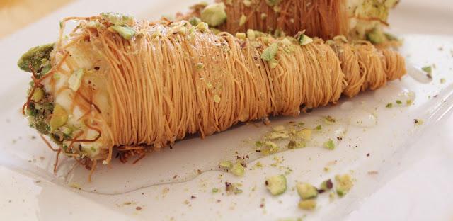 بالخطوات ...طريقة عمل الكنافة بالقشدة حلوي رمضان