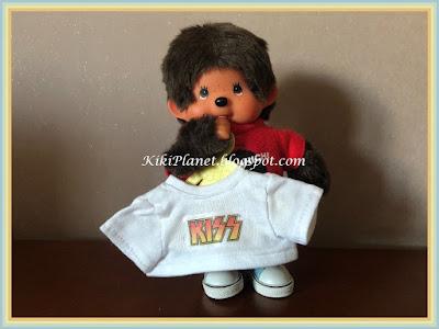 tee shirt vêtement kiki monchhichi, couture, handmade, fait main