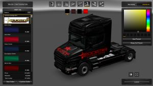 Rockstar Energy Skin for Scania T