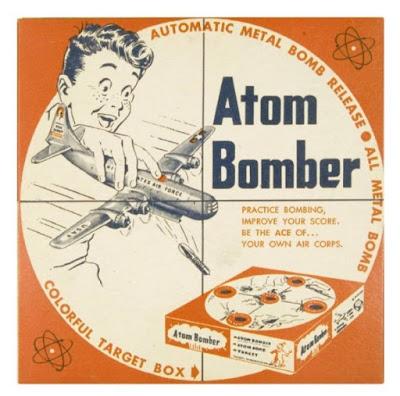 Atom Bomber toy