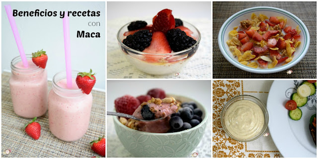 Qué es la maca y 5 recetas deliciosas