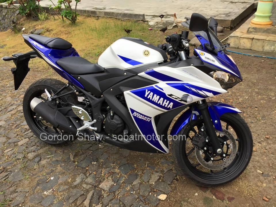 Inilah alasan mengapa pria asal  Inggris ini memilih Yamaha YZF R25 . . .