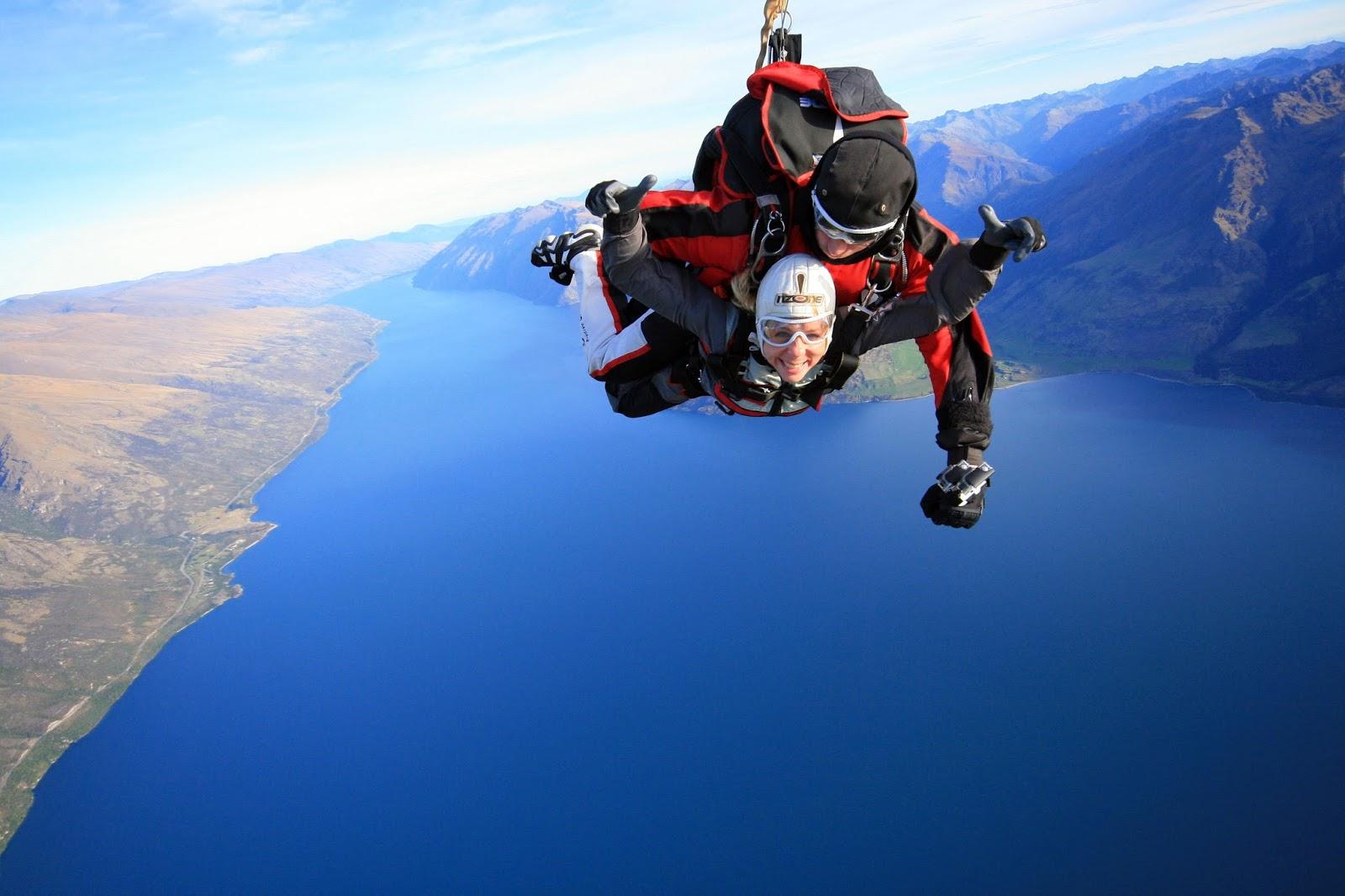 saut en parachute nouvelle zelande