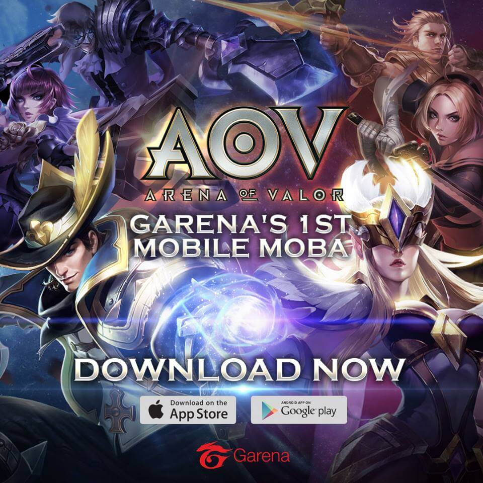 Arena of Valor Now Available in the Philippines