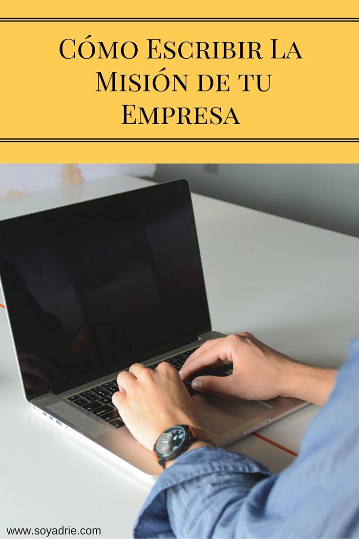 Crear tu misión empresarial