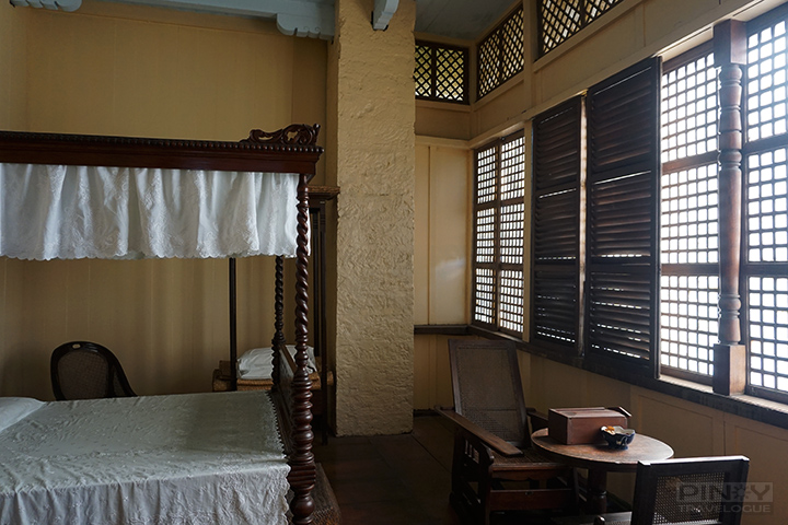 Jose Rizal's birthplace - parent's bedroom