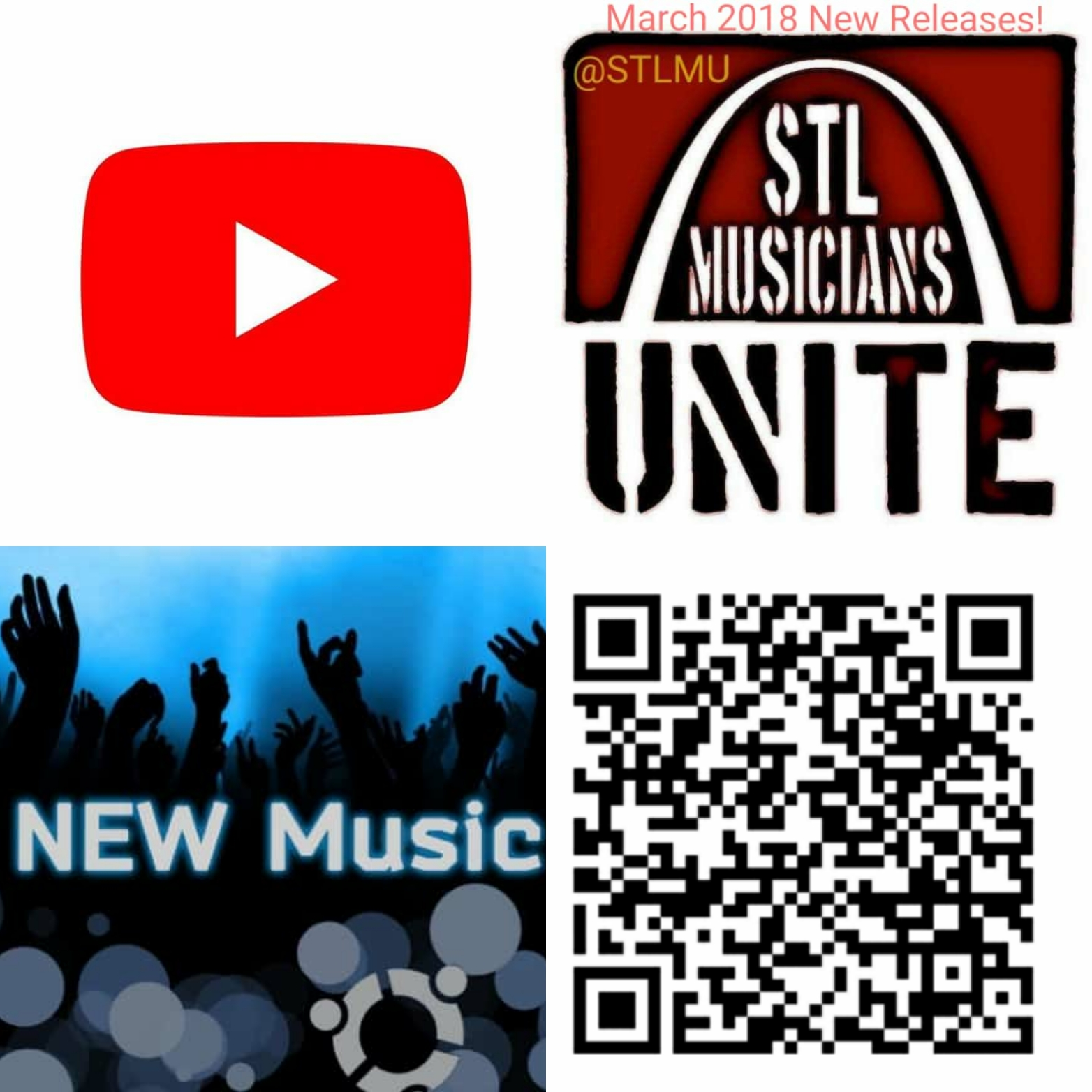 7839625ec6582 March 2018 YouTube and artist new releases are listed in alphabetical  order. Physical copies of particular releases are now available through the  artist and ...