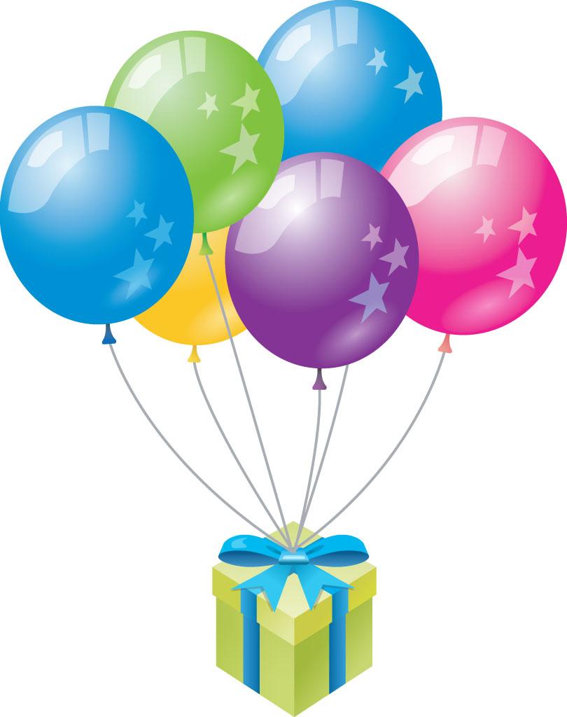 new years balloons clip art - photo #18