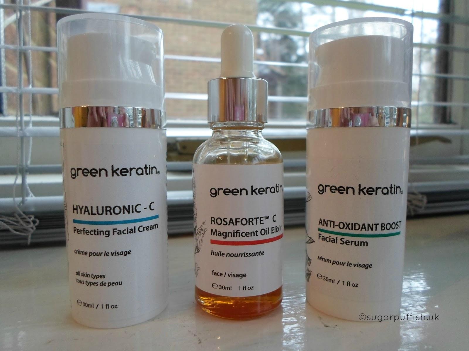 keratin skin cream