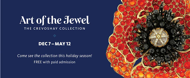 Art of the Jewel:  The Crevoshay Collection at the Natural History Museum of LA County