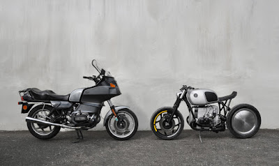 BMW R80RT VS BMW Custom by Vagabund