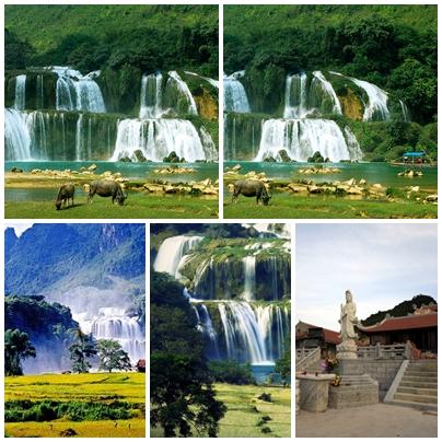 thác bản giốc -du lịch Minh Anh