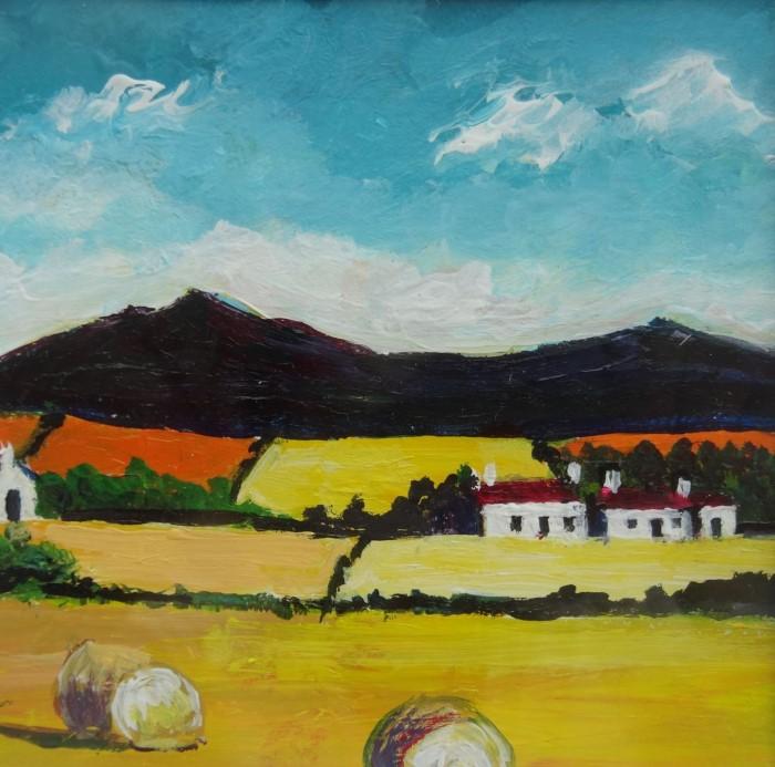 Шотландский художник. Alice Stuart