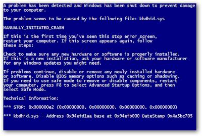 Cara Ampuh Dan Terbaru  Memperbaiki Laptop Yang Bluescreen