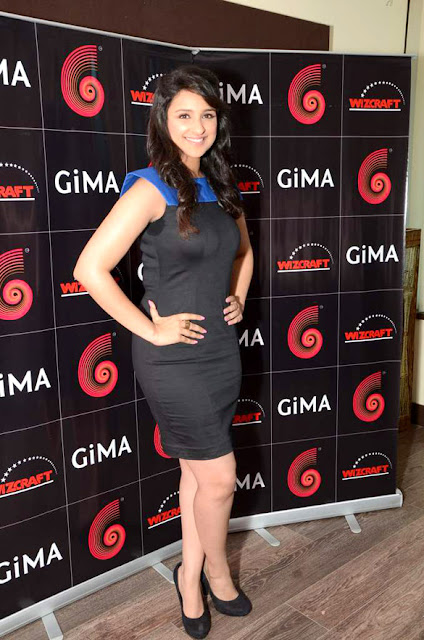 Parineeti Chopra's Photo shoot at 'GIMA' press meet