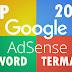 Daftar 70 List KEYWORD PCP TERMAHALGoogle Adsense 2018