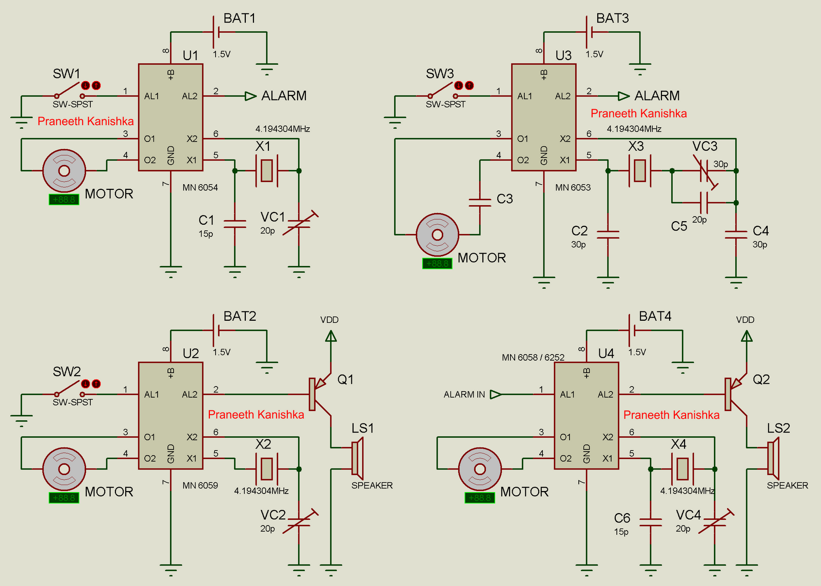 hight resolution of clock circuits