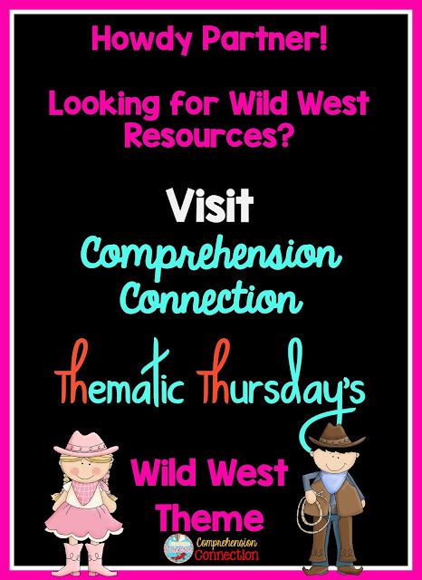 Celebrate the cowboys and cowgirls in your classroom with this Wild West theme. Check out this post for suggestions of books, activities, technology and FREEBIES.