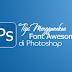 Cara Menggunakan Font Awesome di Adobe Photoshop