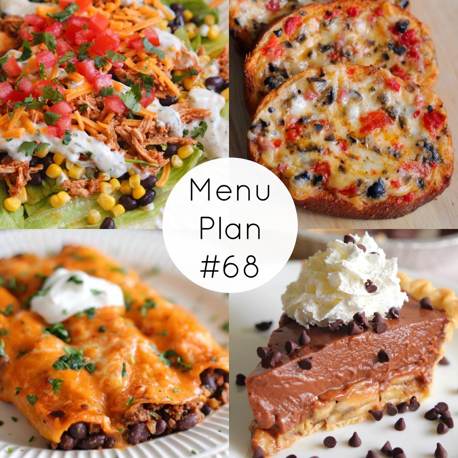 Eat Cake For Dinner Menu Plan Saturday 68