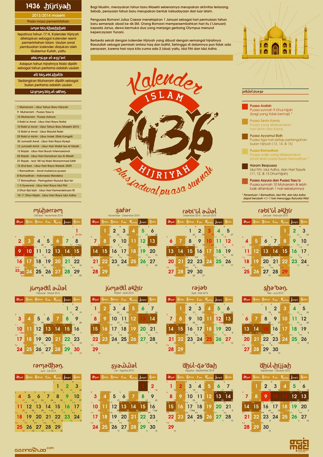 Gregorian Calendar 2014 Beserta Year 2016 Calendar Malaysia Time And Date Kalender Islam