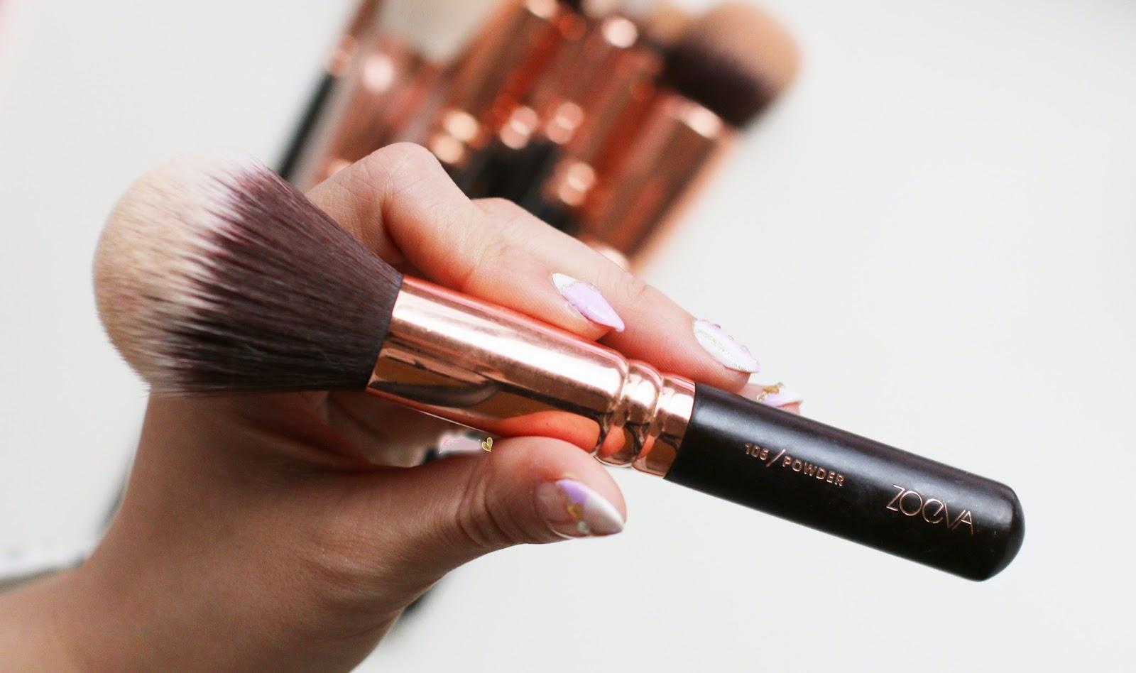Zoeva Rose Gold 108 Powder Brush