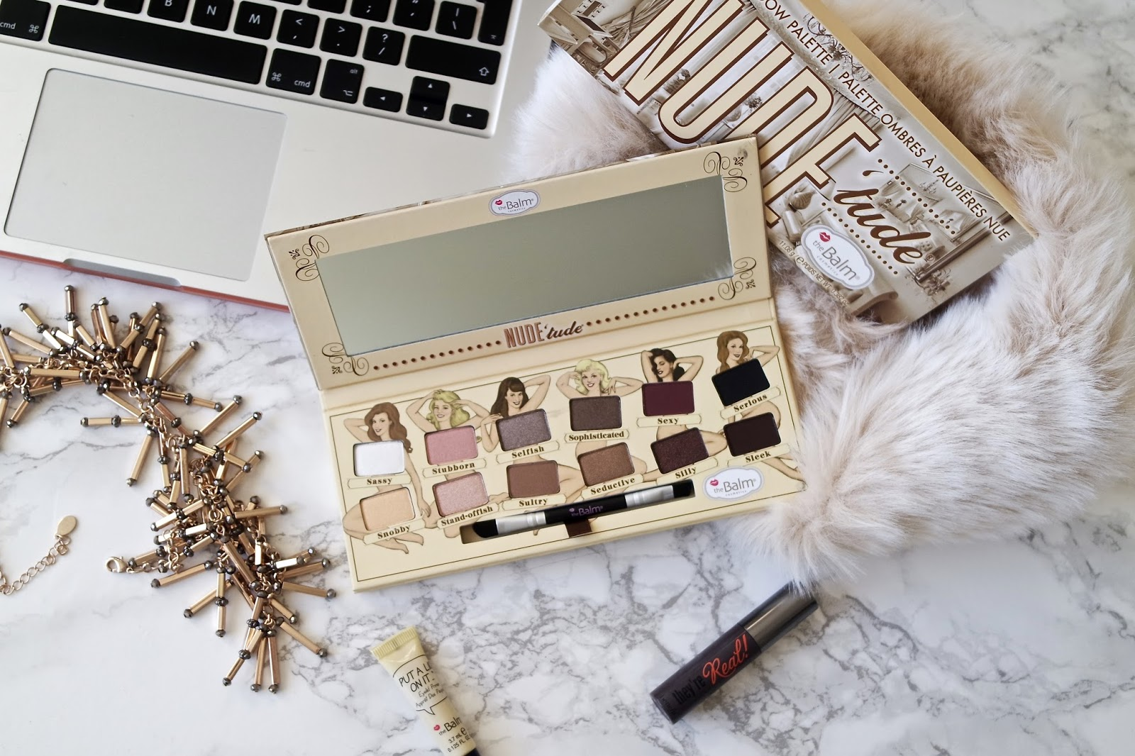 The Balm Nudetude Eyeshadow Palette Review