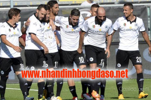 Virtus Entella vs Spezia www.nhandinhbongdaso.net