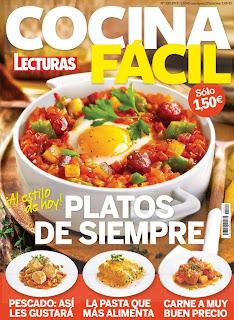 Cocina Fácil Lecturas – Junio 2016 Cover