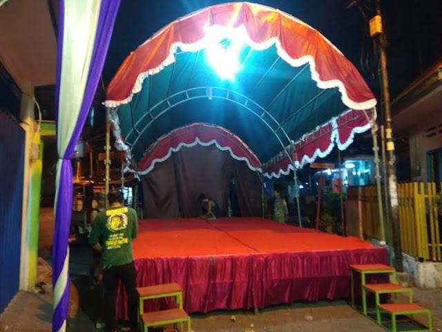 panggung keong