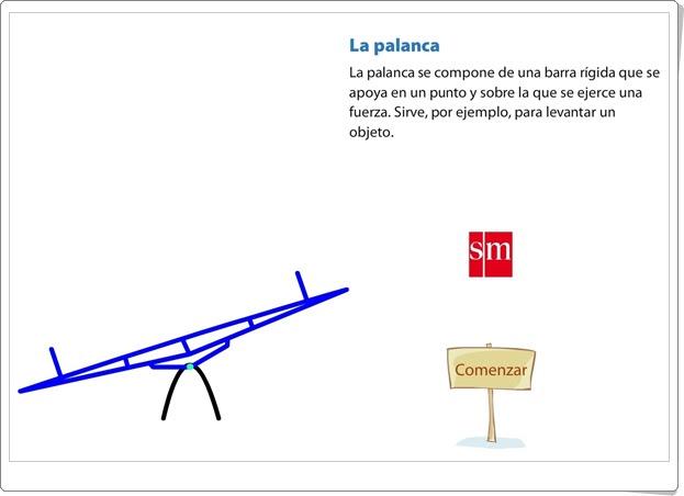 """""""La palanca"""" (Ciencias Naturales de Primaria)"""