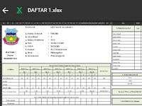 Format Data GTK Pada Daftar 1 (Satu)