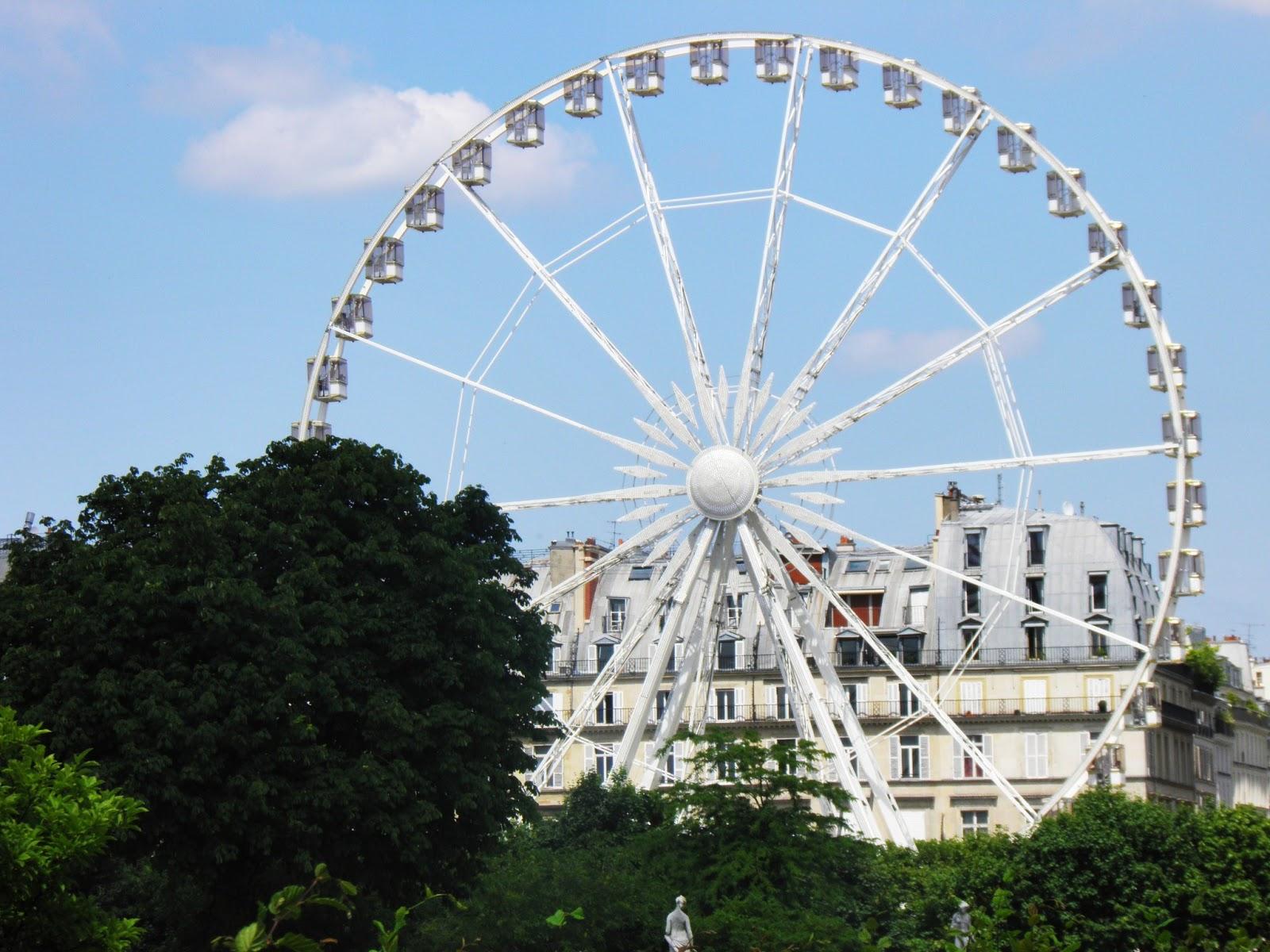 F te foraine des tuileries parisian touch - Jardin des tuileries fete foraine ...