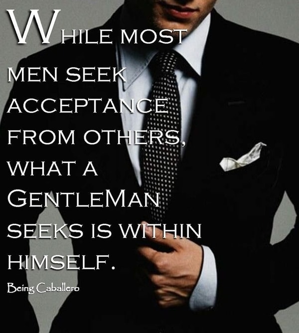 Famous Inspirational Quotes About Being a Man of Character
