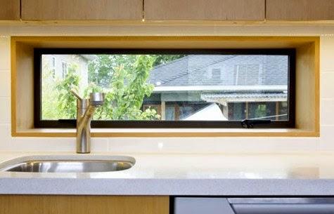 Model Contoh Desain Jendela Dapur Miimalis Sederhana