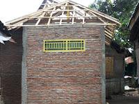 Program Stimulasi Perumahan Swadaya Masyarakat di Desa Tumpu, Hampir Tuntas