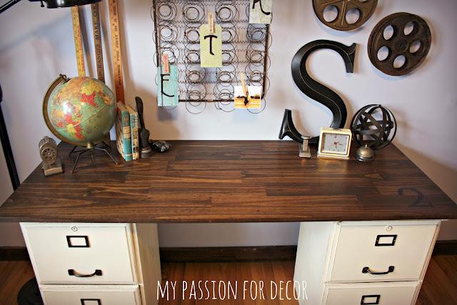 Magnificent My Passion For Decor My Pottery Barn Desk Hack Home Interior And Landscaping Palasignezvosmurscom