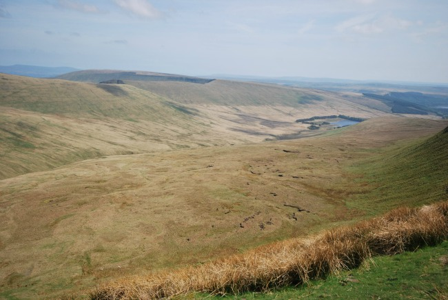 Walks-in-South-Wales-Pen-Y-Fan-image-of-neuadd-reservoir
