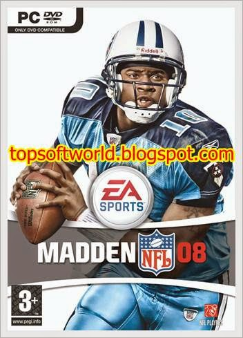 Free Download Madden NFL 08 PC Game | Games,Softwares