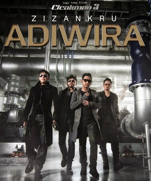 Sinopsis Cicakman 3, review filem Cicakman 3, Original Sound Track OST Cicakman 3, lagu tema, lagu latar filem Cicakman 3, gambar Cicakman 3, download OST Cicakman 3 lagu Adiwira – Zizan Razak
